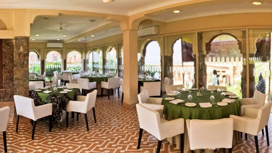 Restaurant in Alwar, Neemrana Tijara Fort Palace, Alwar Hotels 3
