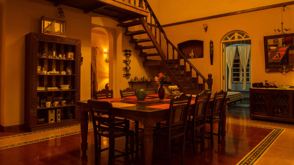 Arco Iris - 19th Century, Curtorim Goa dinning Arco Iris Goa
