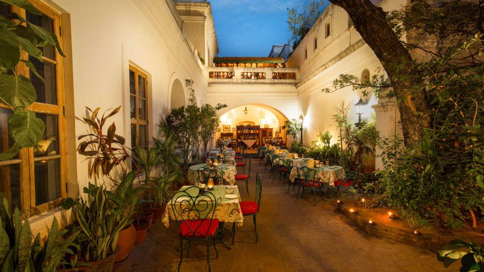 Hotel de l\'Orient - 18th Century, Pondicherry Pondicherry Dining Hotel de l Orient Pondicherry 5