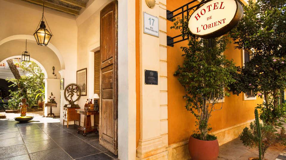 Hotel de l\'Orient - 18th Century, Pondicherry Pondicherry Hotel de l Orient Pondicherry 7