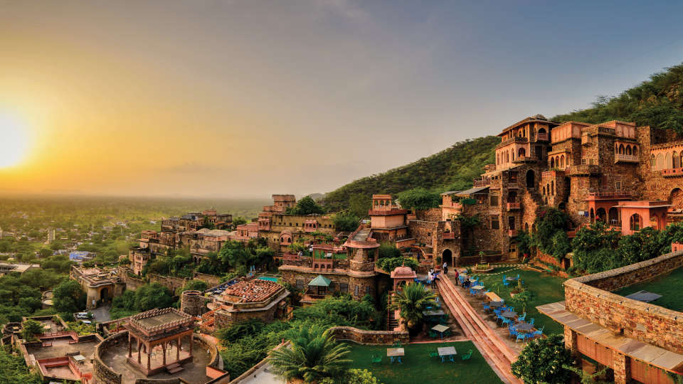 Facade Premises, Neemrana Fort Palace, palace hotel in Rajasthan 2