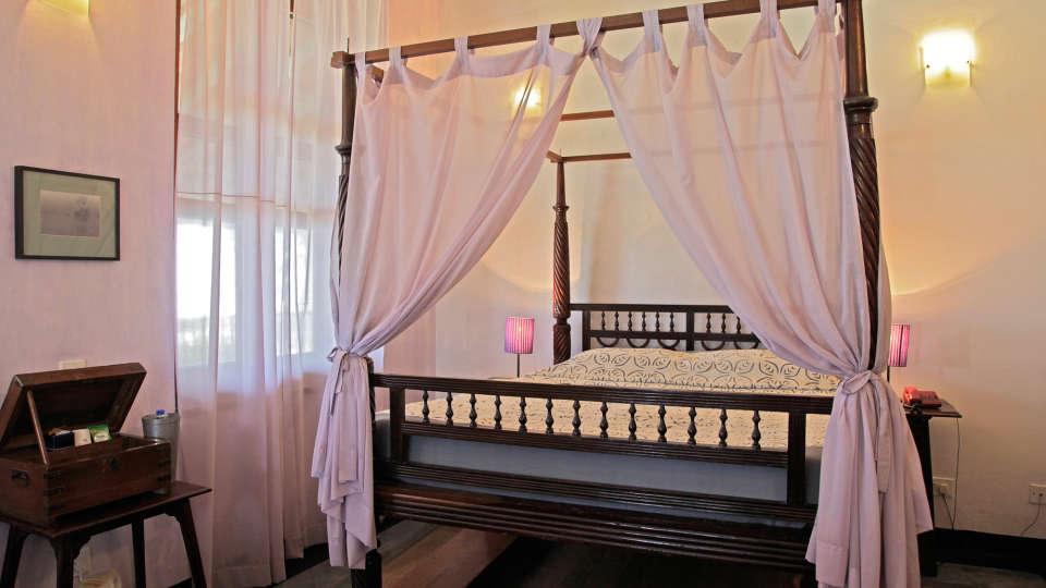 The Bungalow on the Beach - 17th Century, Tranquebar  Prince Christian Room The Bungalow on the Beach Tranquebar Tamil Nadu 1