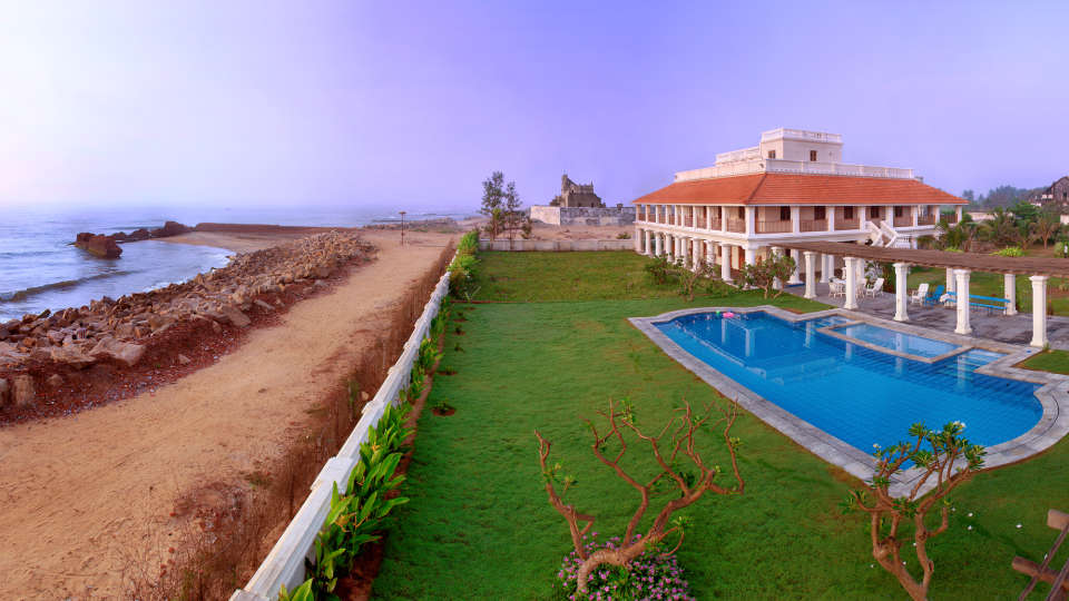 The Bungalow on the Beach - 17th Century, Tranquebar  The Bungalow on the Beach Tranquebar Tamil Nadu 1
