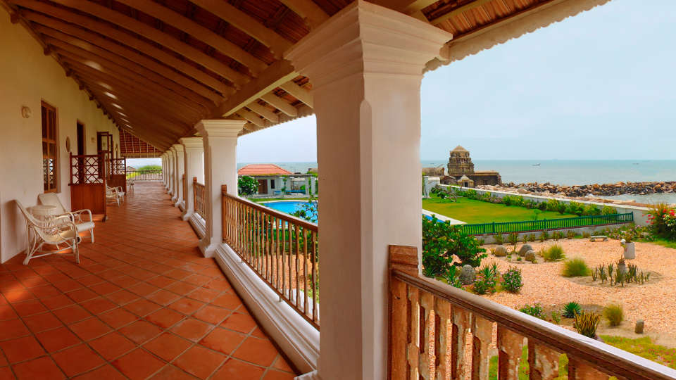 The Bungalow on the Beach - 17th Century, Tranquebar  The Bungalow on the Beach Tranquebar Tamil Nadu 4