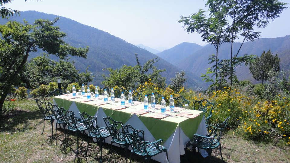The Ramgarh Bungalows - 19th Century, above Nainital Kumaon Conference The Ramgarh Bungalows above Nainital Uttarakhand 1