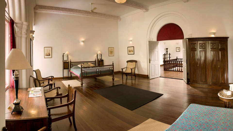 The Mateu room The Tower House Cochin Kerala