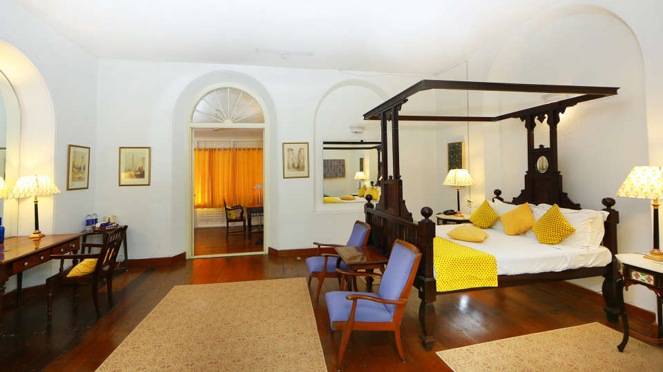 The Wayermah room The Tower House Cochin Kerala