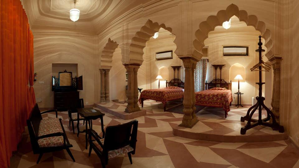 Tijara Fort-Palace - 19th Century, Alwar Alwar Alka Mahal Tijara Fort-Palace Alwar Rajasthan