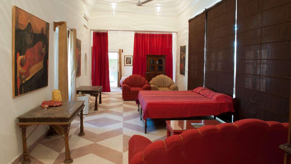 Tijara Fort-Palace - 19th Century, Alwar Alwar Amrita-Vivan Mahal Tijara Fort-Palace Alwar Rajasthan