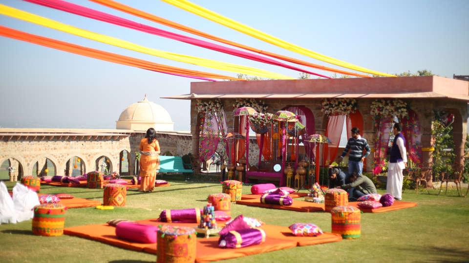 Destination weddings in Rajasthan at Tijara Fort-Palace, Alwar Hotels 18