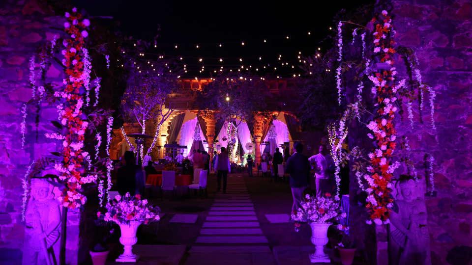 Destination weddings in Rajasthan at Tijara Fort-Palace, Alwar Hotels 21