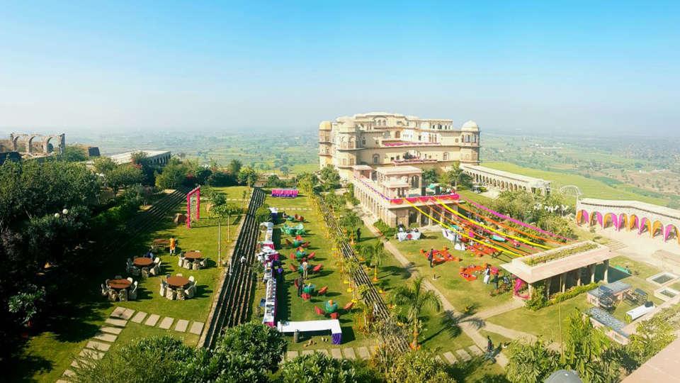 Destination weddings in Rajasthan at Tijara Fort-Palace, Alwar Hotels 24