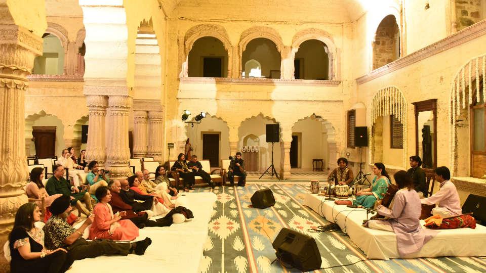 Destination weddings in Rajasthan at Tijara Fort-Palace, Alwar Hotels 25