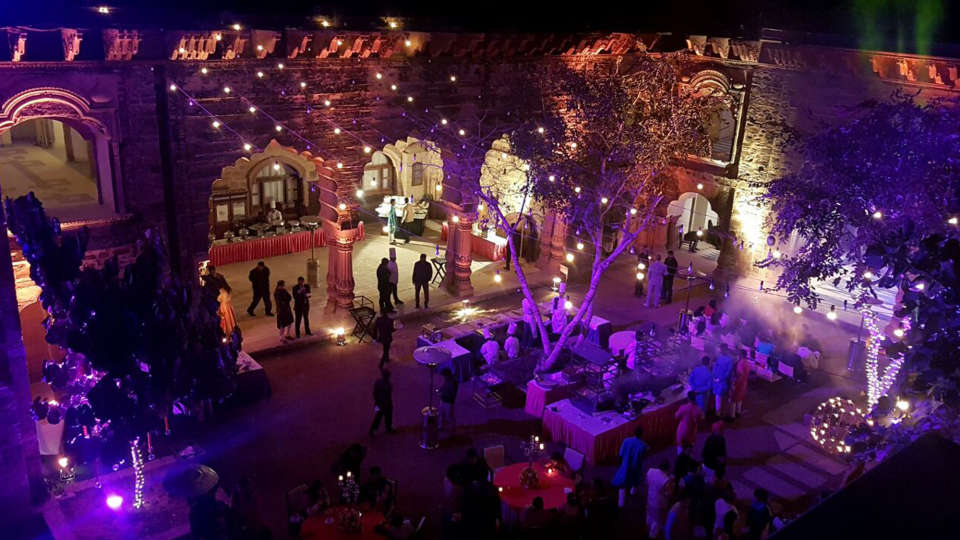 Destination weddings in Rajasthan at Tijara Fort-Palace, Alwar Hotels 26
