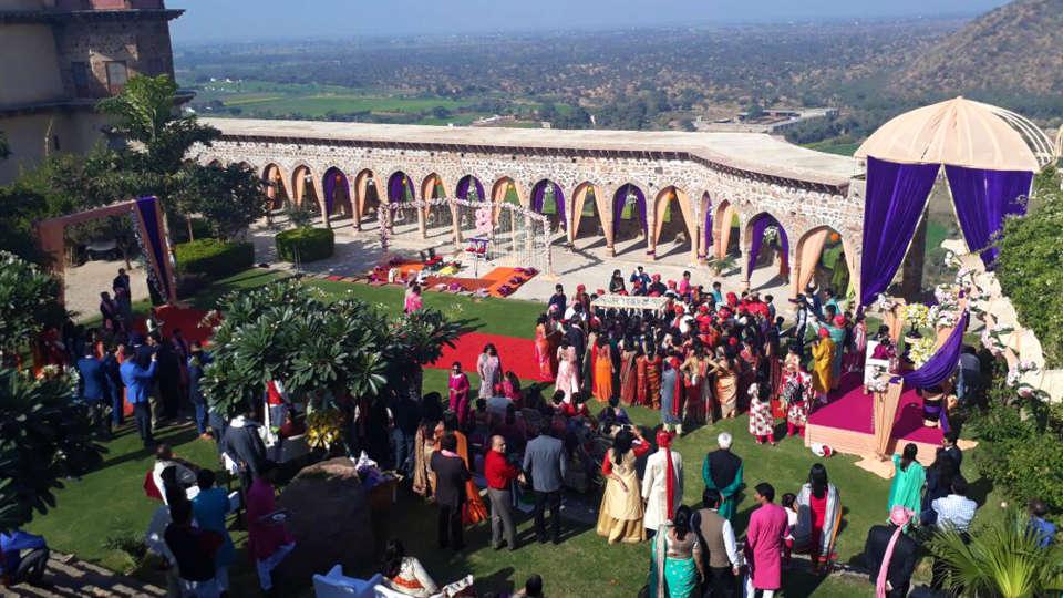 Destination weddings in Rajasthan at Tijara Fort-Palace, Alwar Hotels 27