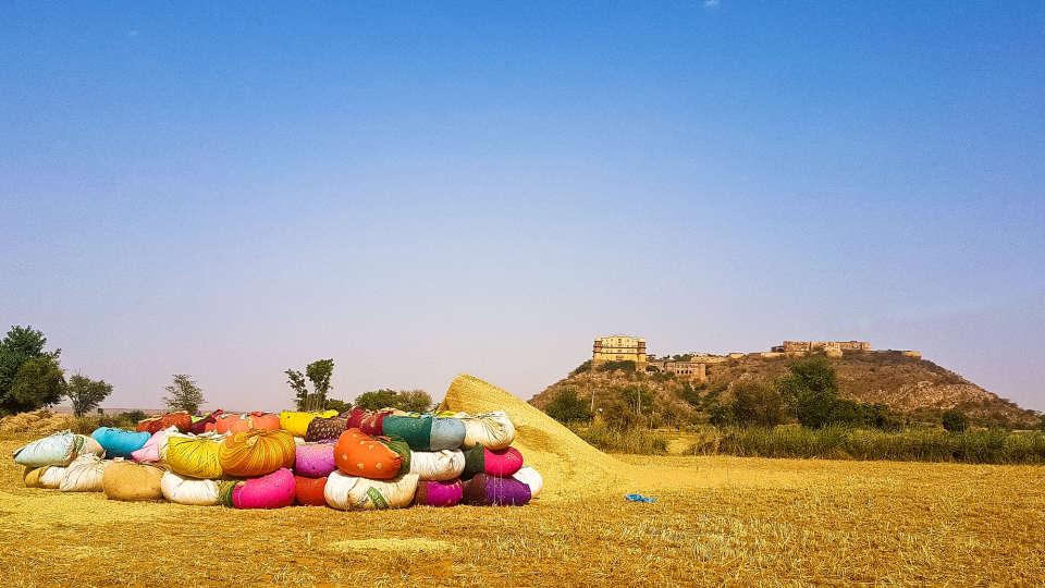 Facade_Tijara Fort Palace_Hotel In Rajasthan 17