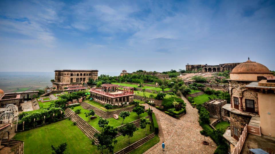 Facade_Tijara Fort Palace_Hotel In Rajasthan 18