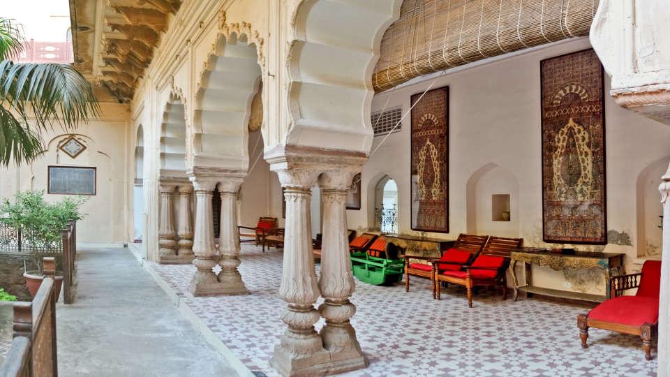 Facade_Tijara Fort Palace_Hotel In Rajasthan 28