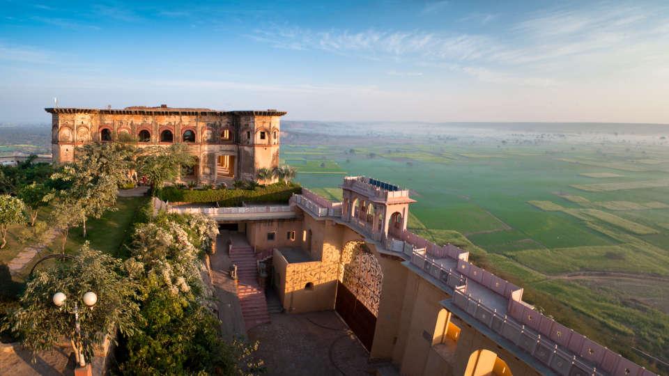 Facade_Tijara Fort Palace_Hotel In Rajasthan 4