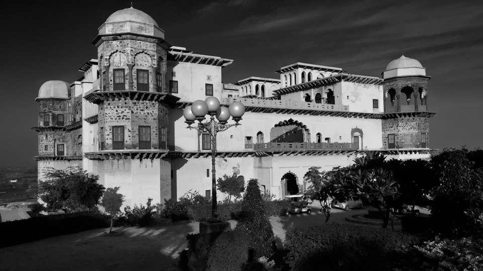 Facade_Tijara Fort Palace_Hotel In Rajasthan 7