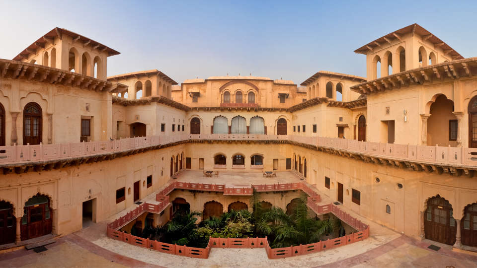 Facade_Tijara Fort Palace_Hotel In Rajasthan 8