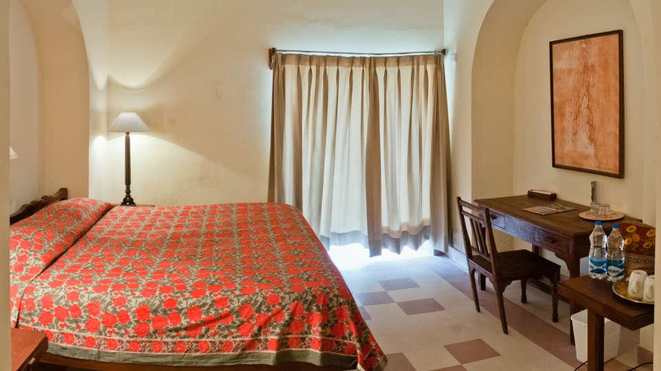Tijara Fort-Palace - 19th Century_ Alwar Alwar Indore Mahal Facade_Tijara Fort Palace_Hotel In Rajasthan