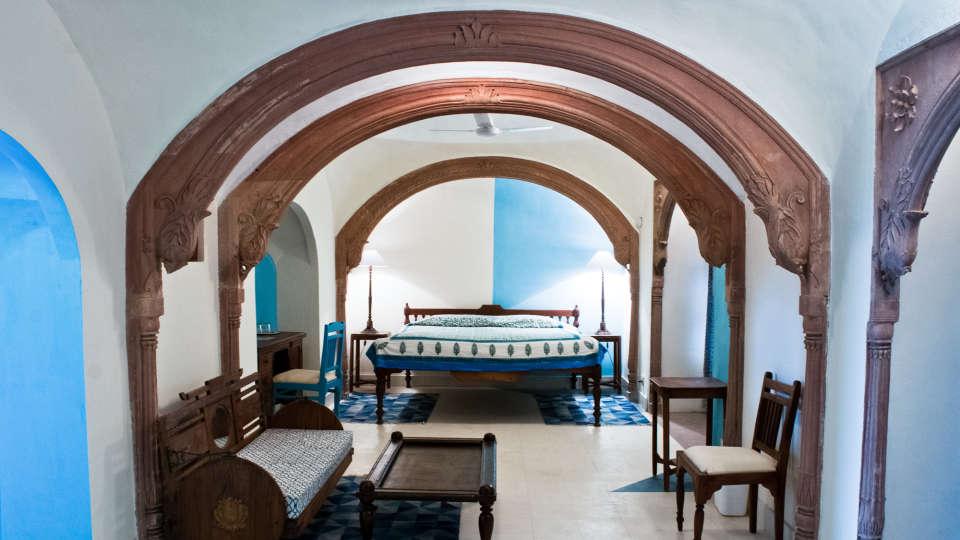 Tijara Fort-Palace - 19th Century, Alwar Alwar Nandan Mahal Tijara Fort-Palace Alwar Rajasthan