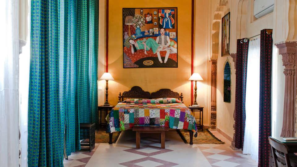 Tijara Fort-Palace - 19th Century, Alwar Alwar Nayna Mahal Tijara Fort-Palace Alwar Rajasthan