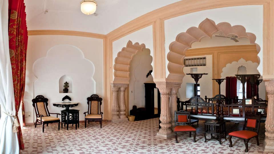 Tijara Fort-Palace - 19th Century, Alwar Alwar Pushpmala Mahal Tijara Fort-Palace Alwar Rajasthan