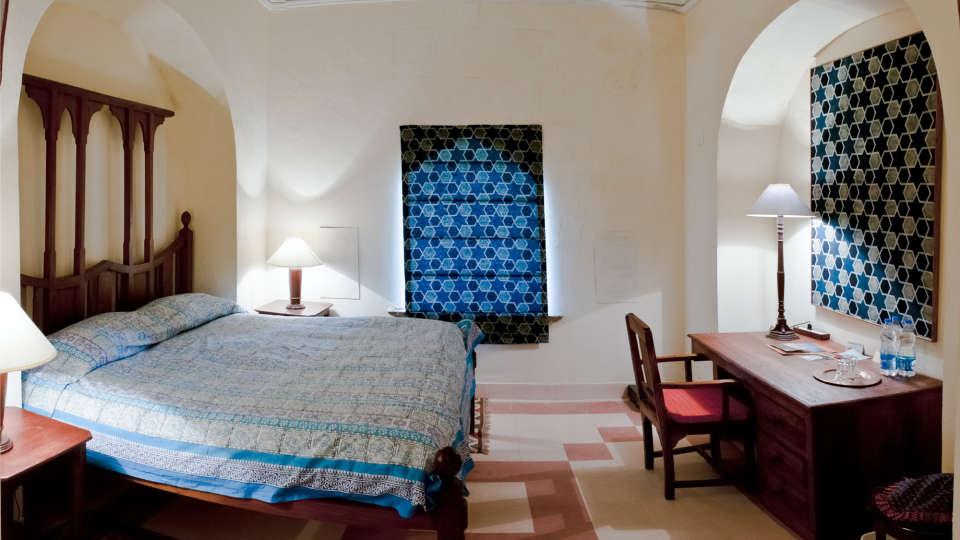 Tijara Fort-Palace - 19th Century_ Alwar Alwar Ratish Mahal Facade_Tijara Fort Palace_Hotel In Rajasthan
