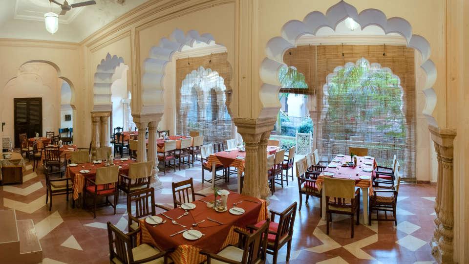Restaurant in Alwar, Neemrana Tijara Fort Palace, Alwar Hotels 5