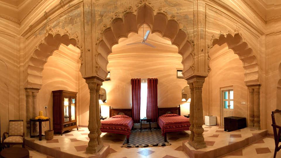 Tijara Fort-Palace - 19th Century, Alwar Alwar Ritu Mahal Tijara Fort-Palace Alwar Rajasthan