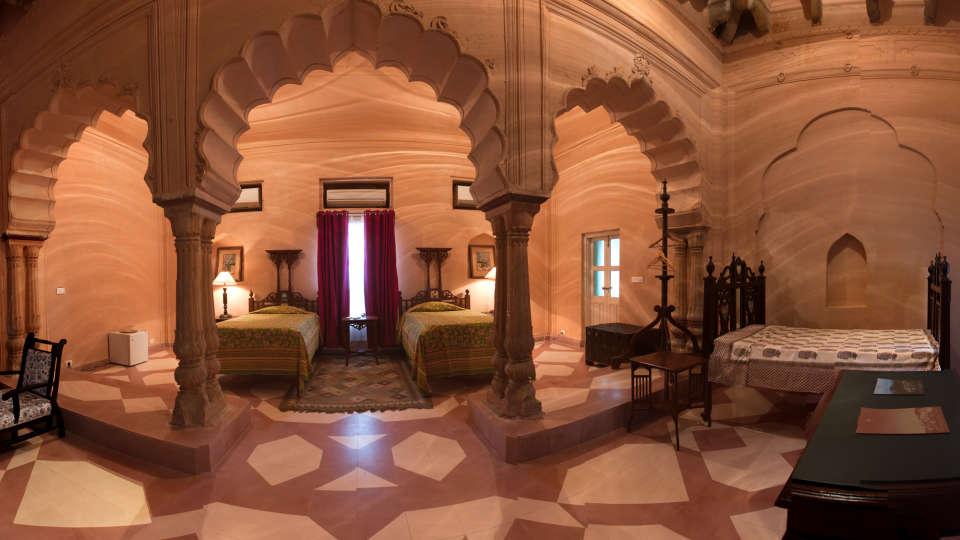 Tijara Fort-Palace - 19th Century, Alwar Alwar Sabia Mahal Tijara Fort-Palace Alwar Rajasthan