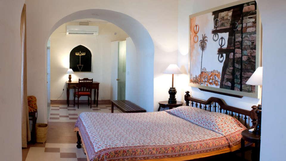 Tijara Fort-Palace - 19th Century_ Alwar Alwar Sanjay Mahal Facade_Tijara Fort Palace_Hotel In Rajasthan 1