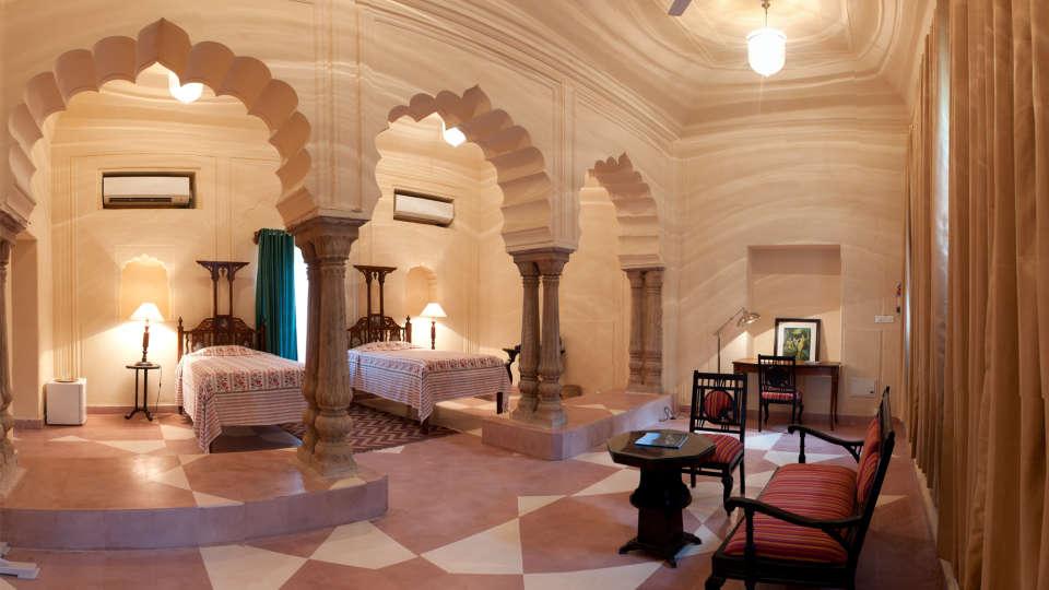 Tijara Fort-Palace - 19th Century, Alwar Alwar Vishakha Mahal Tijara Fort-Palace Alwar Rajasthan