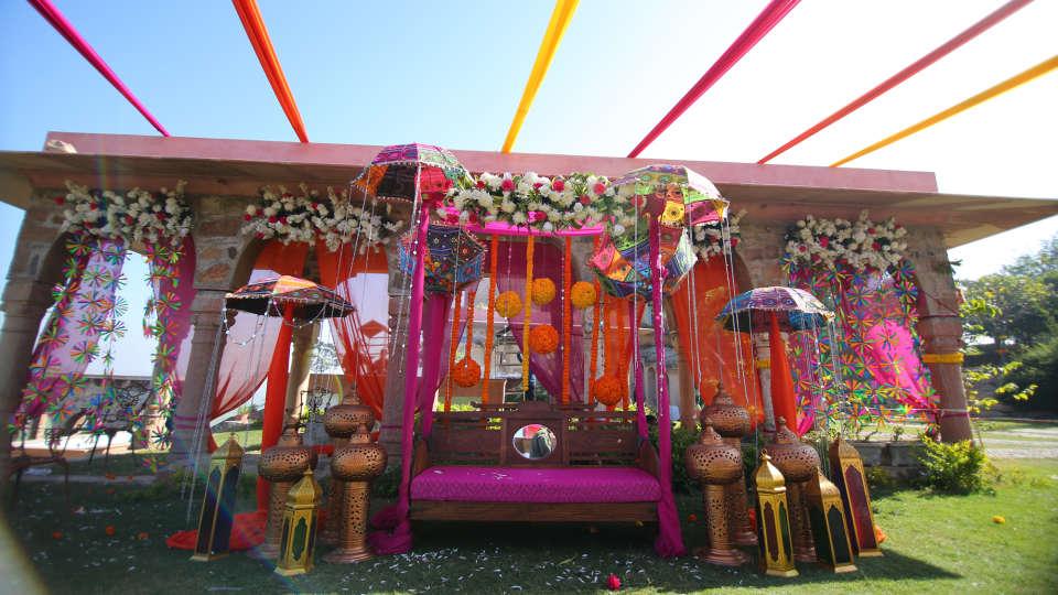 Tijara Fort-Palace - 19th Century, Alwar Alwar Wedding Tijara Fort-Palace Alwar Rajasthan 12