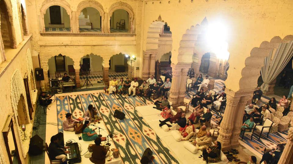 Tijara Fort-Palace - 19th Century, Alwar Alwar Wedding Tijara Fort-Palace Alwar Rajasthan 1