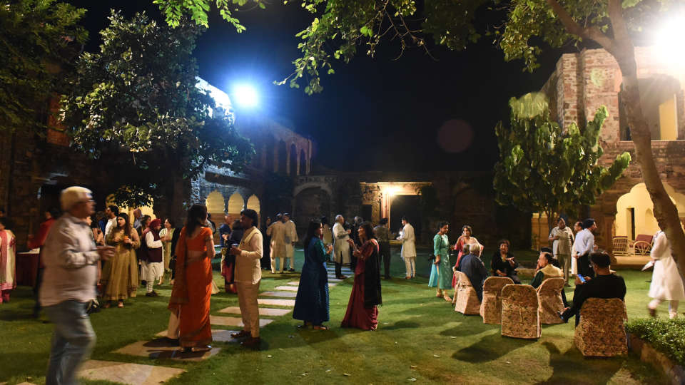 Tijara Fort-Palace - 19th Century, Alwar Alwar Wedding Tijara Fort-Palace Alwar Rajasthan 3