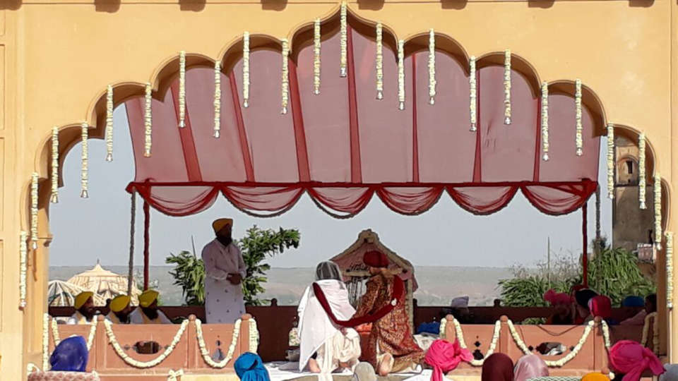 Tijara Fort-Palace - 19th Century, Alwar Alwar Wedding Tijara Fort-Palace Alwar Rajasthan 4