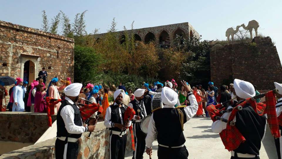 Tijara Fort-Palace - 19th Century, Alwar Alwar Wedding Tijara Fort-Palace Alwar Rajasthan 5