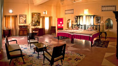 Tijara Fort-Palace - 19th Century_ Alwar Alwar Anju Mahal Facade_Tijara Fort Palace_Hotel In Rajasthan