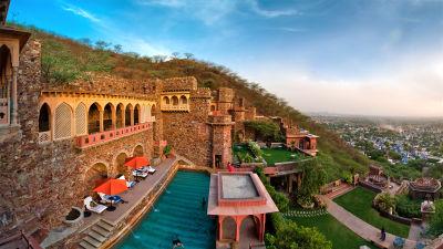 Facade Premises, Neemrana Fort Palace 3,  heritage hotel in Rajasthan 7