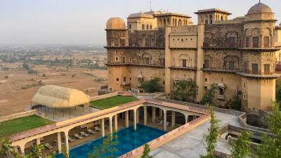 Facade_Tijara Fort Palace_Hotel In Rajasthan 16