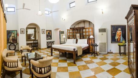 Maharaja Amrinder Singh The Baradari Palace Hotel in Patiala