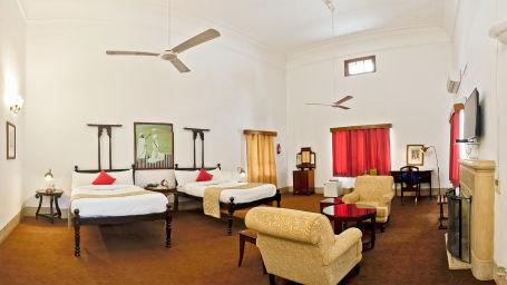 Maharaja Narinder Singh The Baradari Palace Hotel in Patiala