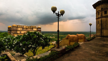 Facade_Tijara Fort Palace_Hotel In Rajasthan 26