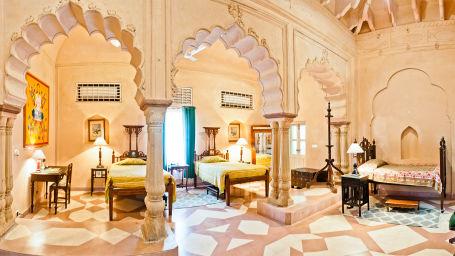 Rooms In Rajasthan_ Facade_Tijara Fort Palace_Hotel In Rajasthan_ Palace Hotel In Rajasthan 34