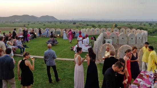Hill Fort-Kesroli - 14th C, Alwar Kesroli Wedding Hill Fort Kesroli - Alwar5