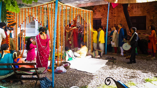 Wedding Hill Fort Kesroli - Alwar1, Destination weddings in Rajasthan