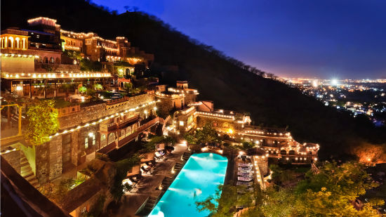 Facade Premises, Neemrana Fort Palace 3,  heritage hotel in Rajasthan 3